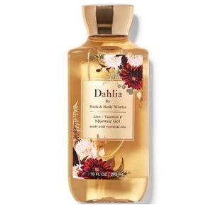 NWT Bath & Body Works Dahlia Shower Gel